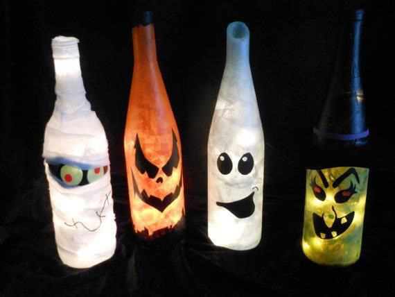 Decoracion Halloween Economica ~ decoracion halloween 2015 calabazas frascos